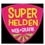 Superhelden Webdesign